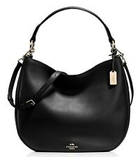 NWT COACH $495 BLACK #36026 NOMAD HOBO BAG