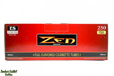 2 BOXES - Zen Regular RED 100mm Size Tubes- 500ct Cigarette Tubes RYO -SAME DAY