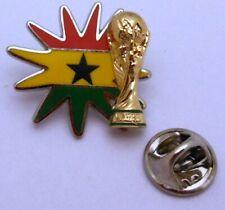 Pin / Anstecker + Team Ghana + Pokal + FIFA Fußball WM 2014 in Brasilien #117