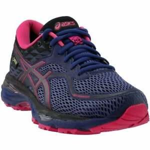 ASICS Gel-Cumulus 19 G-Tx  Womens Running Sneakers Shoes    - Purple - Size 5 B