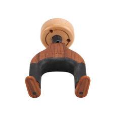 Durable Wall Mount Guitar Hanger Holder Hook Keeper Hanging Brackets Wooden Wood
