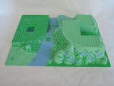 LEGO 3D Platte Burg Palast grüner Garten 44510pb04  32x48x6  7582