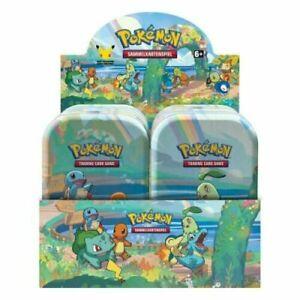 Pokemon Celebrations 25 Jahre Mini Tins Display Auswahl DE/EN - AUF LAGER!