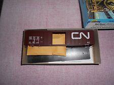 RAIL RUNNER CUSTOM 50' RAILBOX TYPE BOX CAR HO GAUGE CN PLASTIC KIT NIB