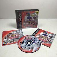 Sammy Sosa High Heat Baseball 2001 Sony PlayStation 1PS1 CIB Tested and Working