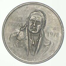 SILVER - WORLD COIN - 1978 Mexico 100 Pesos - World Silver Coin *838