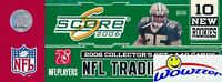 2006 Score Football HUGE Factory Sealed Complete 440 Card Factory Set-110 ROOKIE