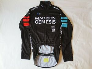 Madison Genesis Cycling Team Long Sleeve Jersey/Jacket-Size S New (62)