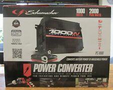 NEW!! SCHUMACHER Power Converter 1000 W/ 2000 peak WATT (PC-1000)