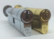 TS007 1 Star High Security Thumb Turn Anti Snap Euro Cylinder Lock for UPVC Door