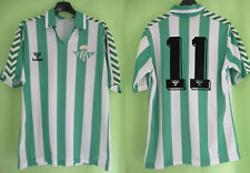Maillot Real Betis Seville #11 Hummel vintage 1998 Jersey Football - M