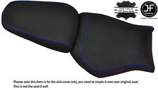 DESIGN 2 GRIP R BLUE ST CUSTOM FITS YAMAHA MT 03 06-14 FRONT + REAR SEAT COVER