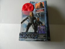 NIB Marvel X-Men the Movie Sabretooth Figure With Security Guard Toy Biz 2000