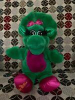 Barney BABY BOP Vintage 1992 Full Body Hand Puppet Plush Stuffed Animal Dakin