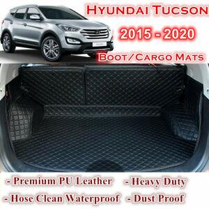 Tailor Made Waterproof Boot Liner Cargo Mats Cover Hyundai Tucson 2015 - 2020