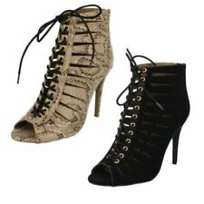 Lace Up Sandals Heels for Women