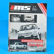 DDR Illustrierter Motorsport IMS 12/1989 Sachsenring Formel 1 Prost Woltersdorf