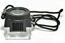 Kood 10x Focus Loupe Magnifier Jeweller Film Negative Slide Viewer Lupe (UK) NEW