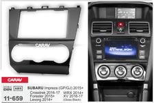 Car Stereo Radio Fascia Panel 2 Din Frame Kit for SUBARU Forester Impreza 11-659