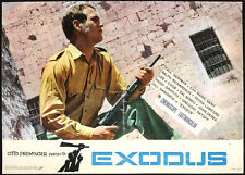 CINEMA-fotobusta EXODUS paul newman, O. PREMINGER