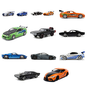 FAST & FURIOUS Die - Cast Toy Cars - 11 Styles