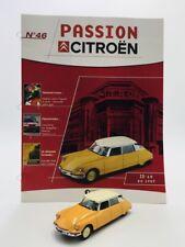 id 19 de 1957 passion citroën 1/43 atlas n46/100 fascicule très bon état