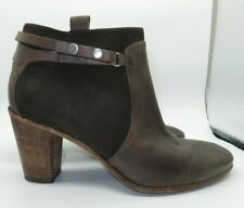 Alberto Fermani Serra Leather Suede Ankle Boots Booties Italy 9 US $550 Shoes 39