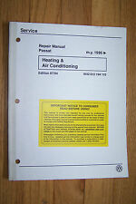 vw passat owners workshop manual service repair heating air conditioning ac new