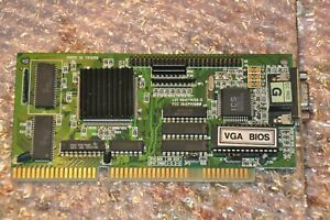 ISA Grafikkarte Tseng ET4000AX SCSI ? - 1MB RAM - top für DOS gaming - getestet