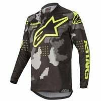 Alpinestars 2020 Adults Racer Tactical Camo Motocross MX Enduro Bike Jersey