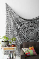 Elephant Indian Mandala Hippie Wall Hanging Tapestry Throw Art Bedspread Ethnic