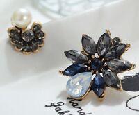 1 Pair Elegant Multi Crystal Rhinestone  Ear Drop Dangle Stud long  Earrings 111