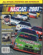 The Official NASCAR 2001 Preview And Press Guide Bobby Labonte 102617nonjhe