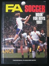 FA SOCCER Book For Boys 1981(Unclipped)