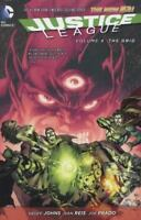 Justice League - The Grid Vol. 4 by Geoff Johns (2014, Hardcover, Graphic Novel)