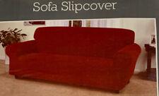Madison Industries Mason Sofa Slipcover - Color: Brick