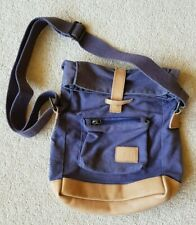 Zara bag boys over the shoulder canvas with real leather retro kids children