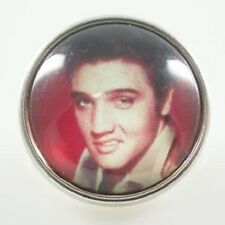 Fits Ginger Snaps Snap Elvis Presley Interchangeable Jewelry Button 18mm