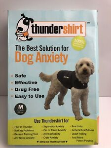 THUNDERSHIRT Dog Anxiety Shirt MEDIUM Solid Gray Safe-Effective-Drug Free NEW