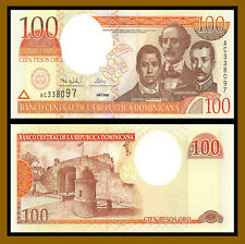 Dominican Republic 100 Pesos Oro, 2000 P-167a Uncirculated Unc