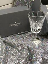 waterford lismore white wine set of 6 crystal  glasses 4oz