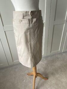 Paul Smith Beige Cotton  Skirt 42/10 -12