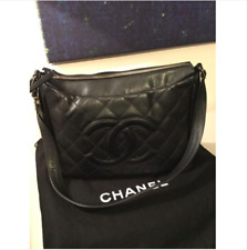 18a1ad11ad0f CHANEL Caviar Shoulder Bag Black Bags   Handbags for Women