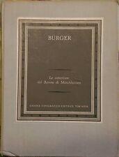 LE AVVENTURE DEL BARONE DI MUNCHHAUSEN -  Gottfried August Burger- 1958