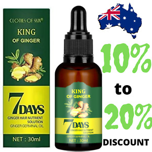 Regrowth 7Day Ginger Germinal Hair Growth Serum Hairdressing Oil Loss Treatment