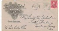 Scott #461 ~ ON HOTEL COVER ~ SCV $1200 ~ November 1915