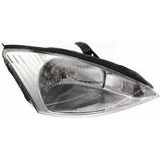 For Focus 00-02, Passenger Side Headlight, Clear Lens
