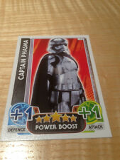 STAR WARS Force Awakens - Force Attax Trading Card #114 Captain Phasma