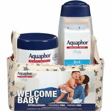 6 Aquaphor Welcome Baby 3 Pcs Gift Set Hypoallergenic Paraben and Fragrance Free