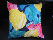 NEW SEASONS Vibrant Fruit Salad OUTDOOR Cushion Cover ZAAB Funky Fun Summer WOW